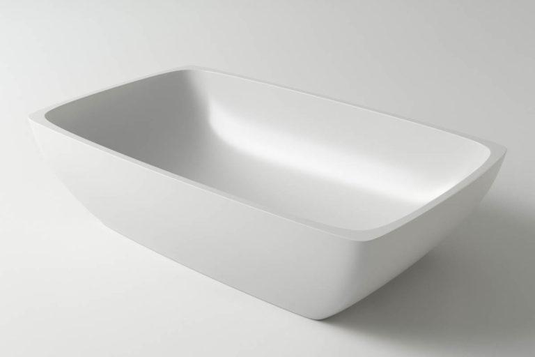 Раковина каменная Holbi Titan, 60x36, из Solid Surface